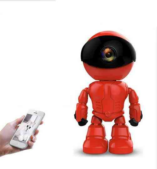 S2 Ip Camera Robot - 1080p Hd Wifi / Wireless Ptz Two Way Audio