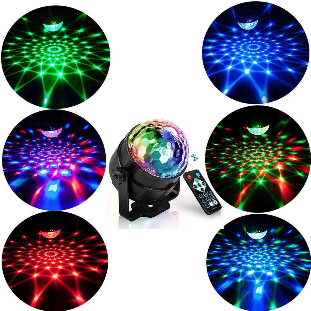 Rgb Led Party Effect Disco Ball Light Stage Laser Lamp Projector Music Ktv Festival Party