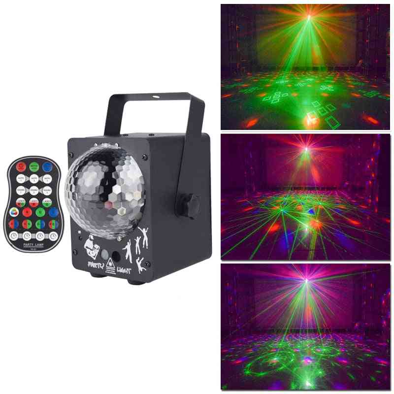 60 In 1 R&g Led Laser Pattern Lamp-disco Light Projector