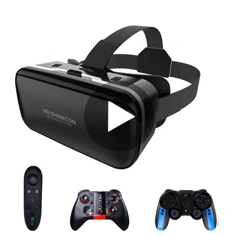 6.0 Virtual Reality, 3d Goggles Headset For Iphone/android-smartphone