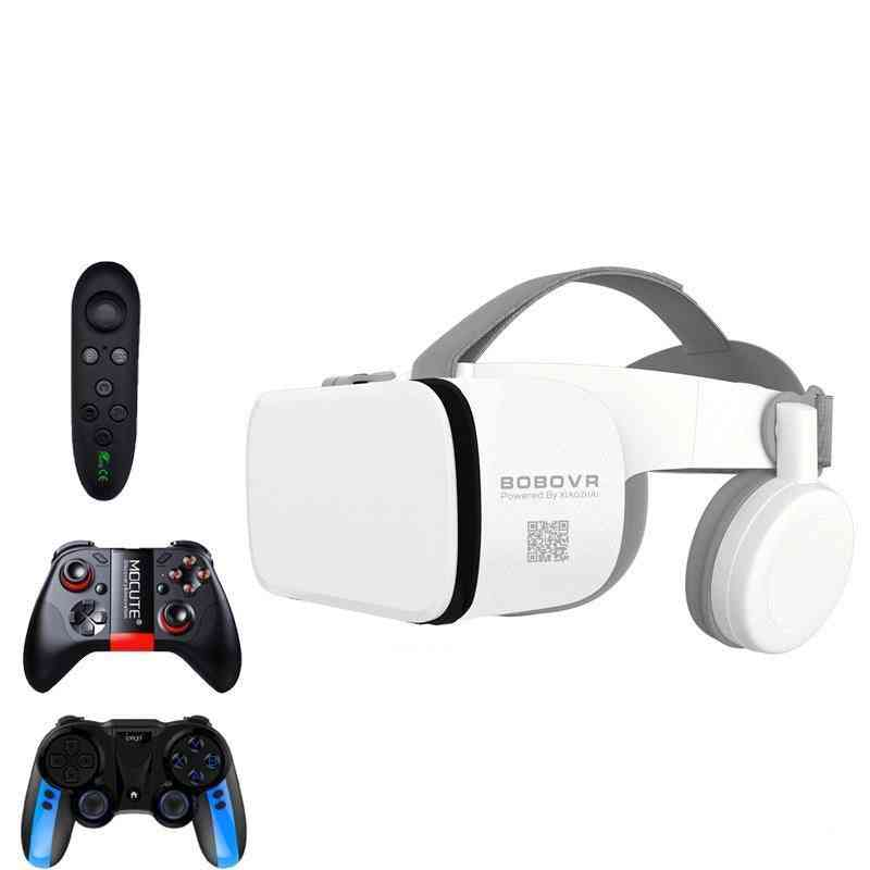 Bluetooth 3d Virtual Reality Headset For Smartphone