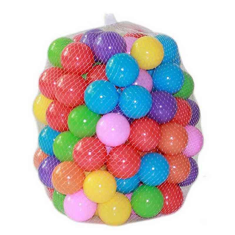 Soft Plastic Ocean Ball Pool For Playpen, Colorful Stress Air Juggling Balls