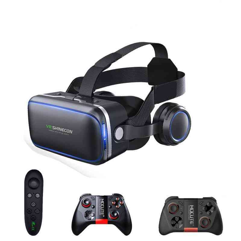 6.0 Virtual Reality, 3d Goggles Headset For Smartphone And Iphone