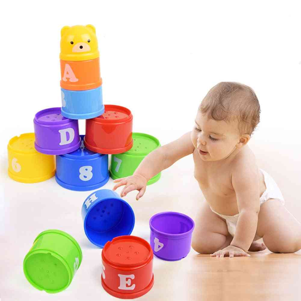 Stacking Cups Set For Babies-educational