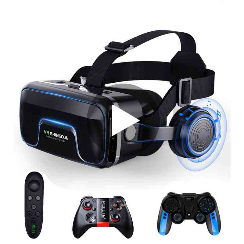 10.0, 3d-glasses, Virtual Reality Headset For Smartphone, Iphone Vedio Games