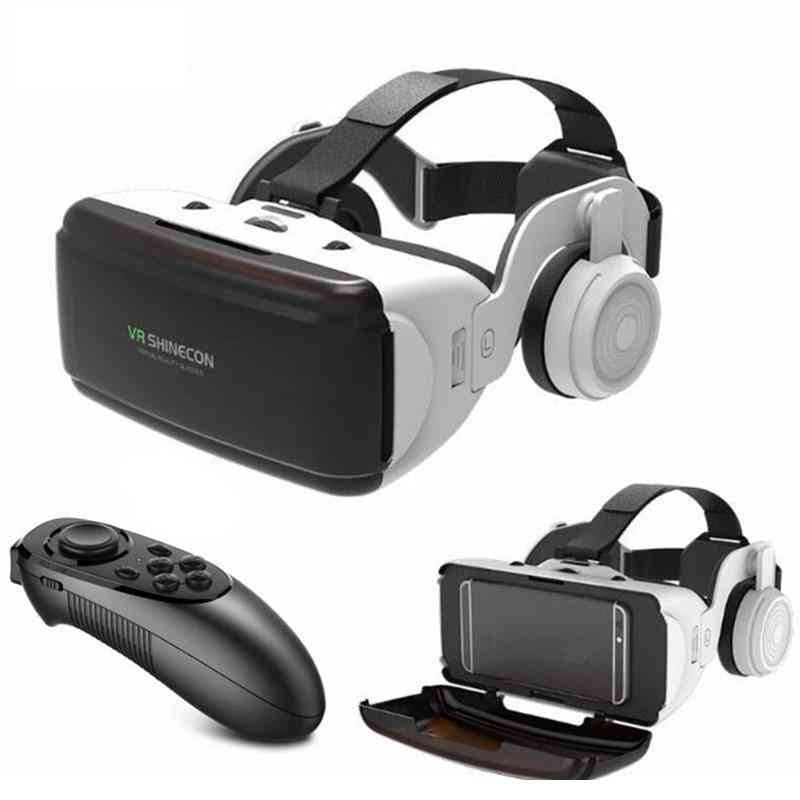 Virtual Reality 3d-glasses And Headset Ios/android