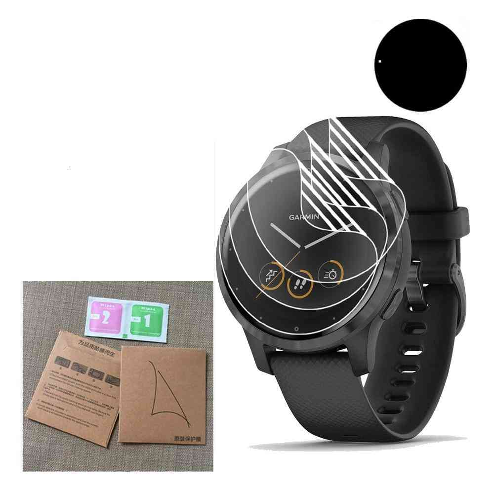 Anti-scratch Hydrogel Soft Clear Full Screen Protector Vivoactive4 4s