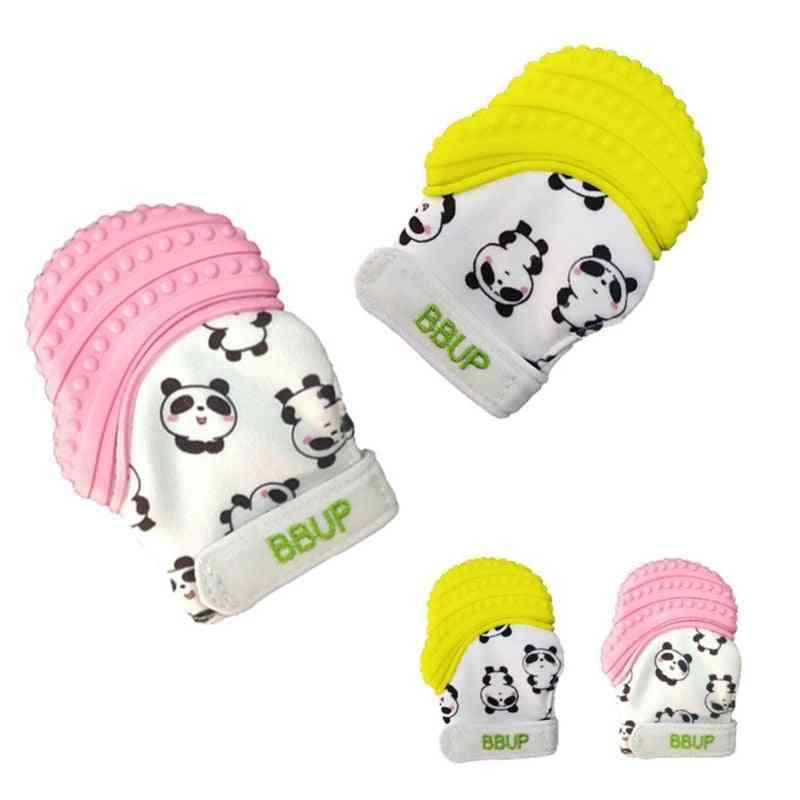 Soft Baby Teething Mittens Anti-bite Hand Gloves