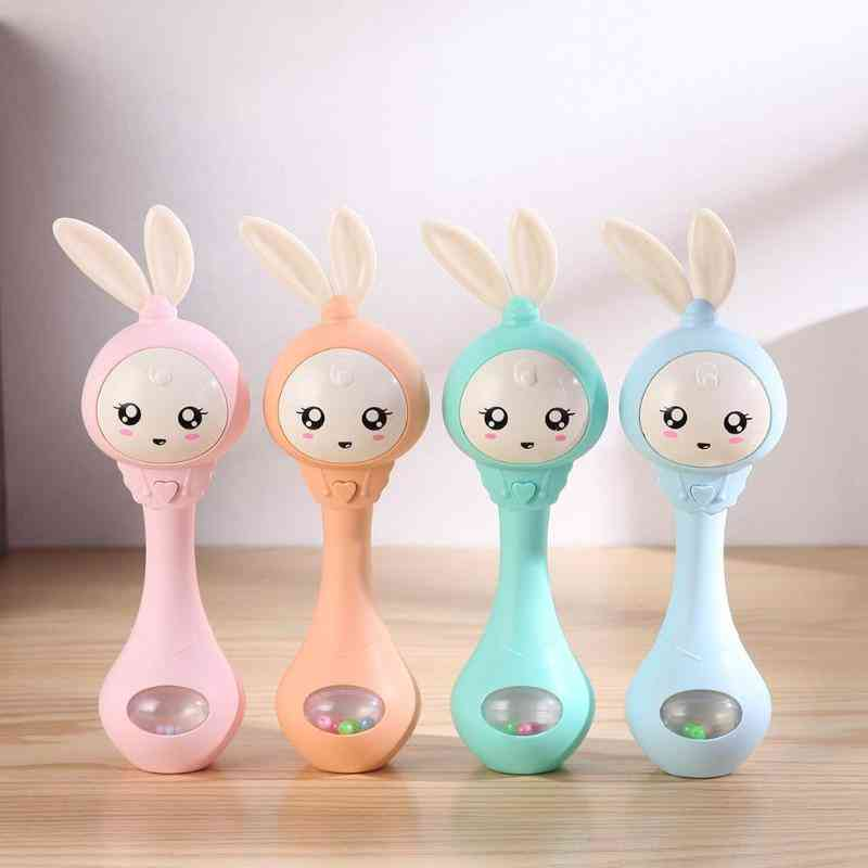 Education Mobile Cot Bed Bell & Music Teether Rattle Toy