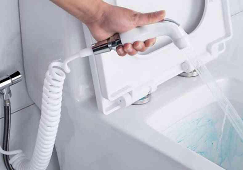 Wall Mounted Handheld Toilet Bidet Sprayer Set Kit