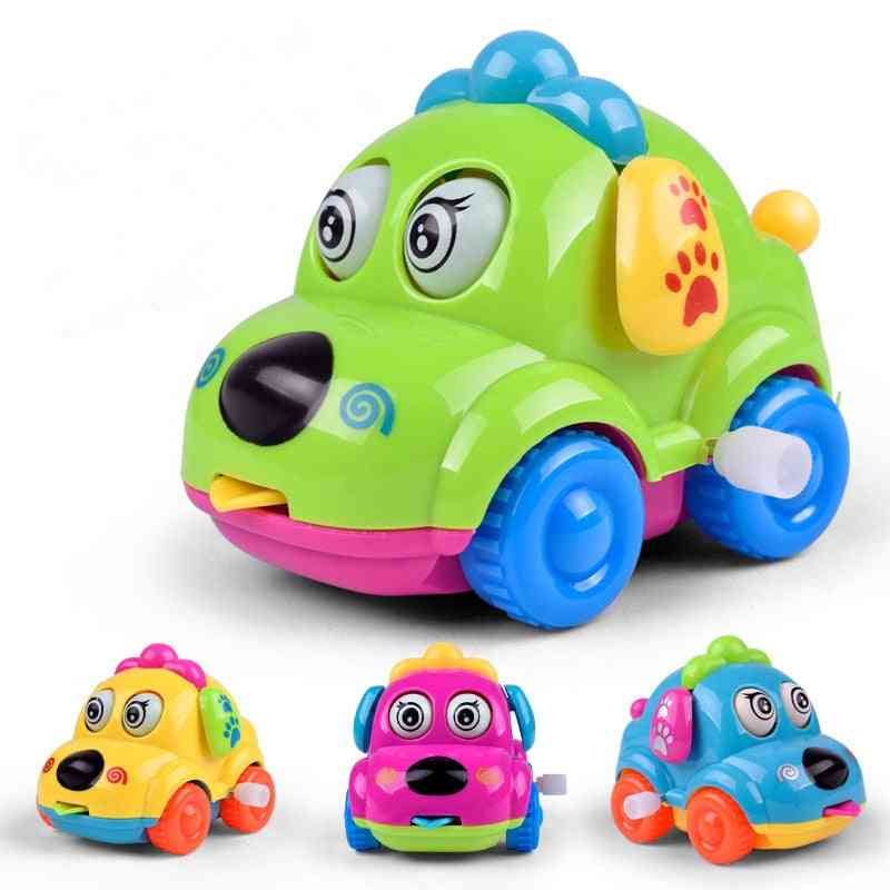 Cute Cartoon Animals Clockwork Wind Up, Dog Shape Car Toy
