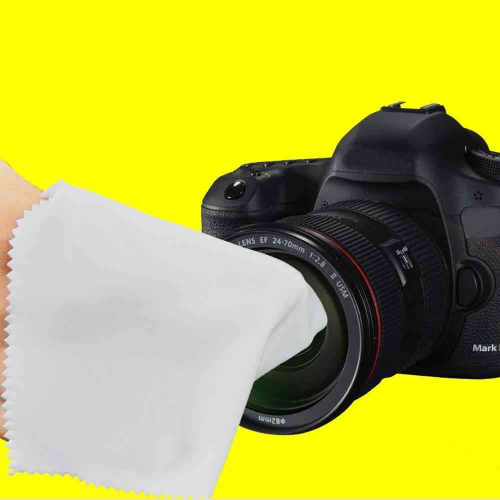 Gray Soft Magicfiber -microfiber Cleaning Cloths For Eyeglasses