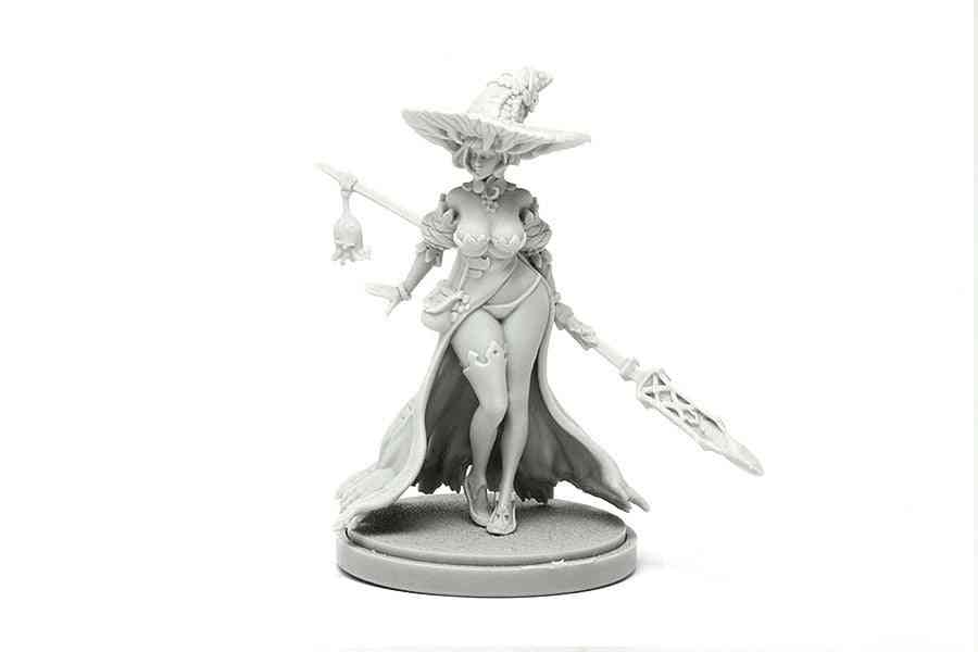 Diy Assemble Resin Statue-disciple Of The Witch One