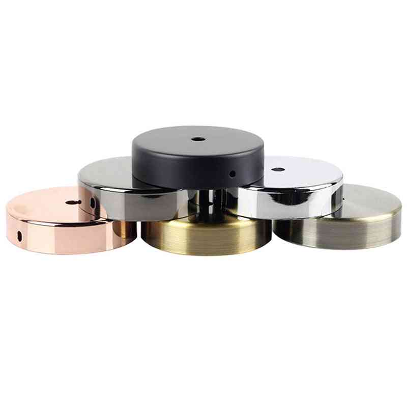 Round Shaped, Ceiling Tray-base/top Plate For Wall Lamp