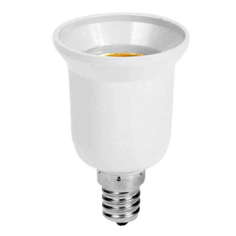 Fireproof Plastic Lamp Converter -e14 To E27 Adapter