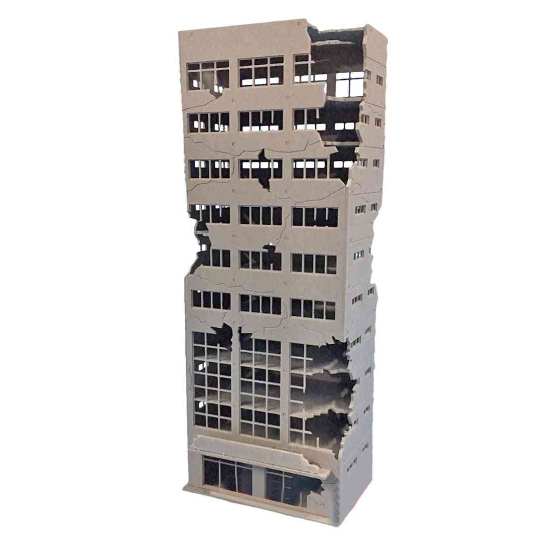 Sand Table Decoration - Assembly Model Trade Building Kit
