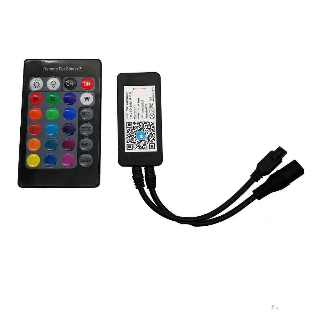 Smart Wifi Rgb Led Strip Controller With 24key