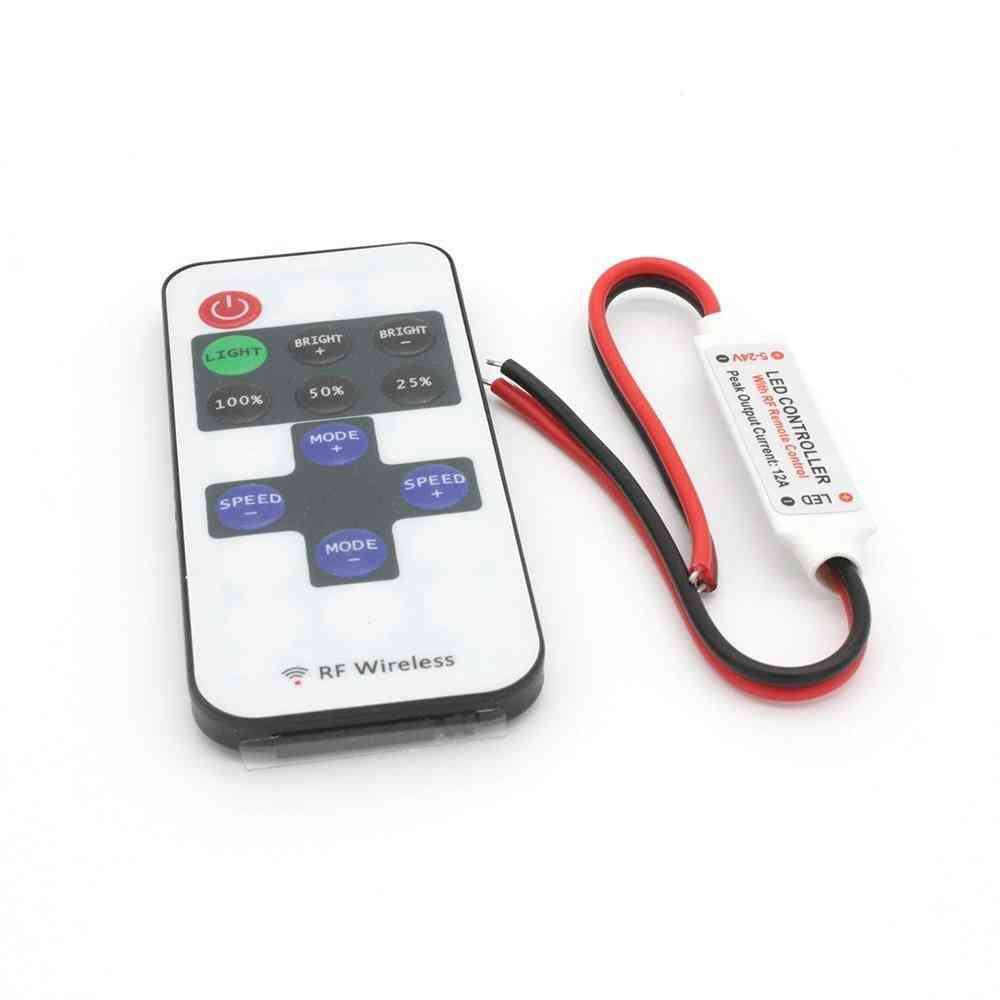 Led Strip Controller - Mini Dimmer With Key