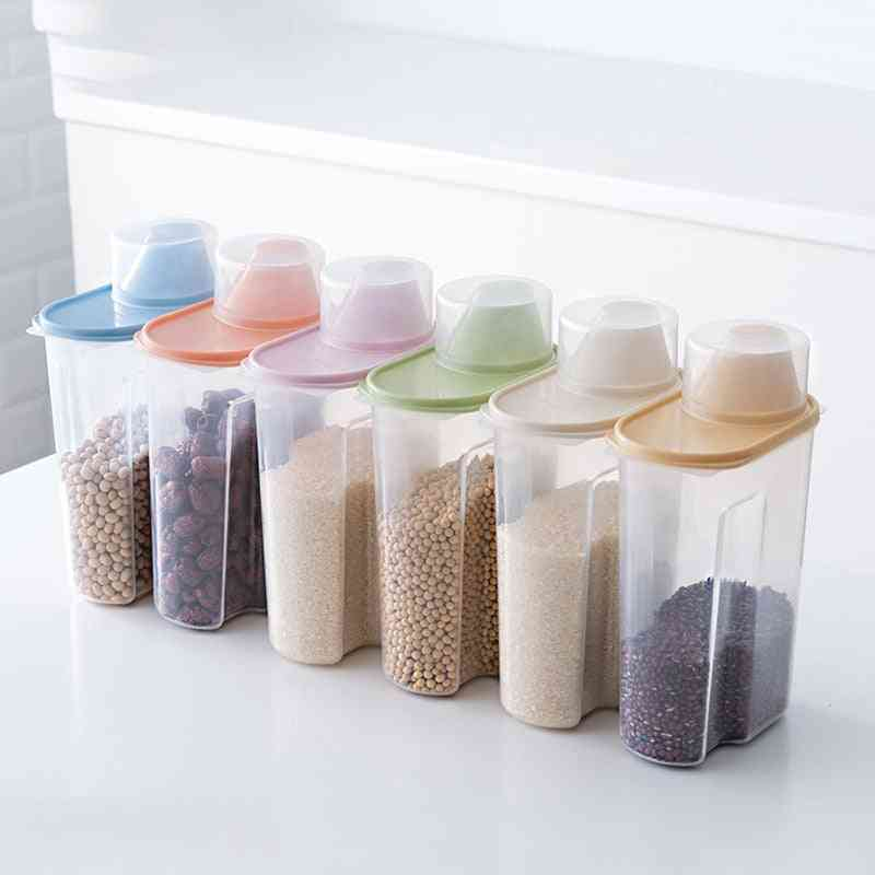 Plastic Clear Container Food Storage Box Set