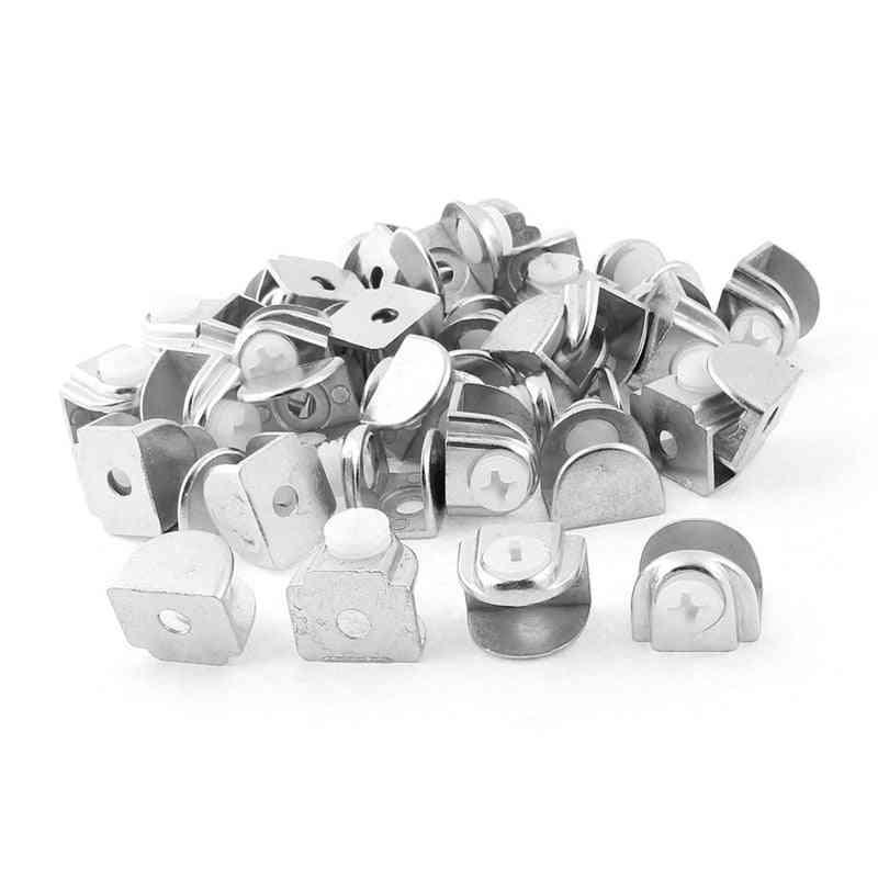 Adjustable Glass Shelf Bracket/clamp