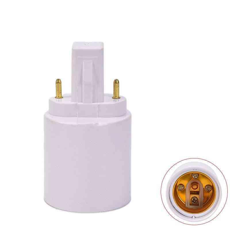 Lamp Holder-fireproof Socket Plug, Converter To E27/e26 Led Halogen Light Bulb