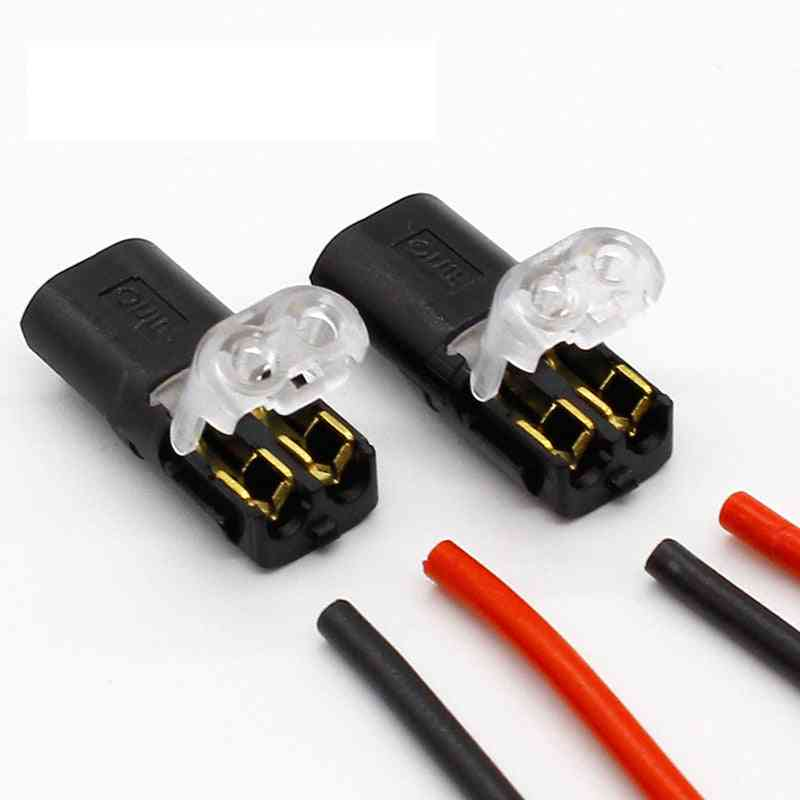 Spring Connector-wire With No Welding No Screws