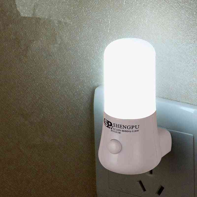 Wall Socket Mounted-6 Led, Bedside Night Lamp
