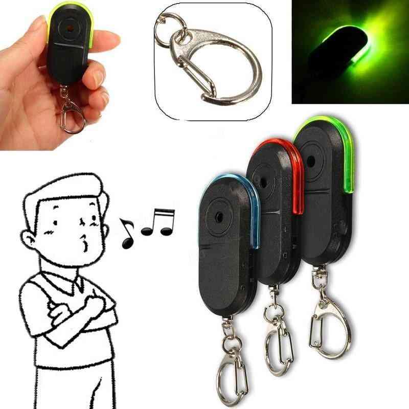 Smart Anti-lost Alarm, Wallet/phone Keyring, Whistle Sound Sensor With Led Light