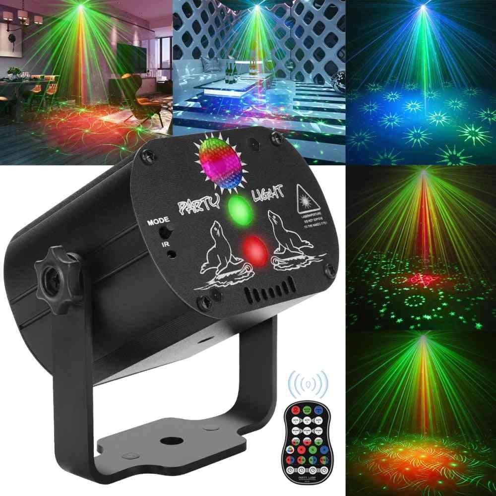 Mini Rgb Disco Light, Led Laser Stage Projector