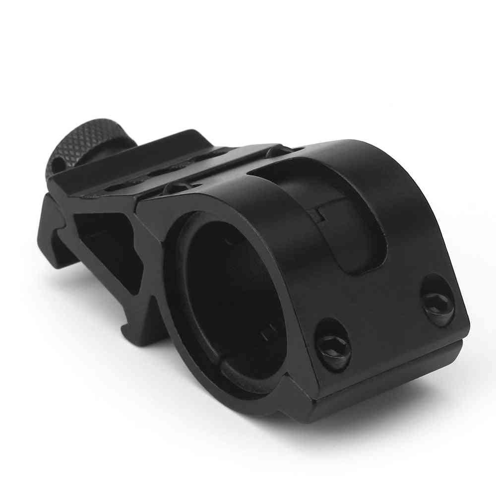 25 Or 30mm Ring Picatinny 21mm Weaver Rail Airsoft Rifle Shot-gun Laser Light, Sight Scope Hunting Holder Mounts