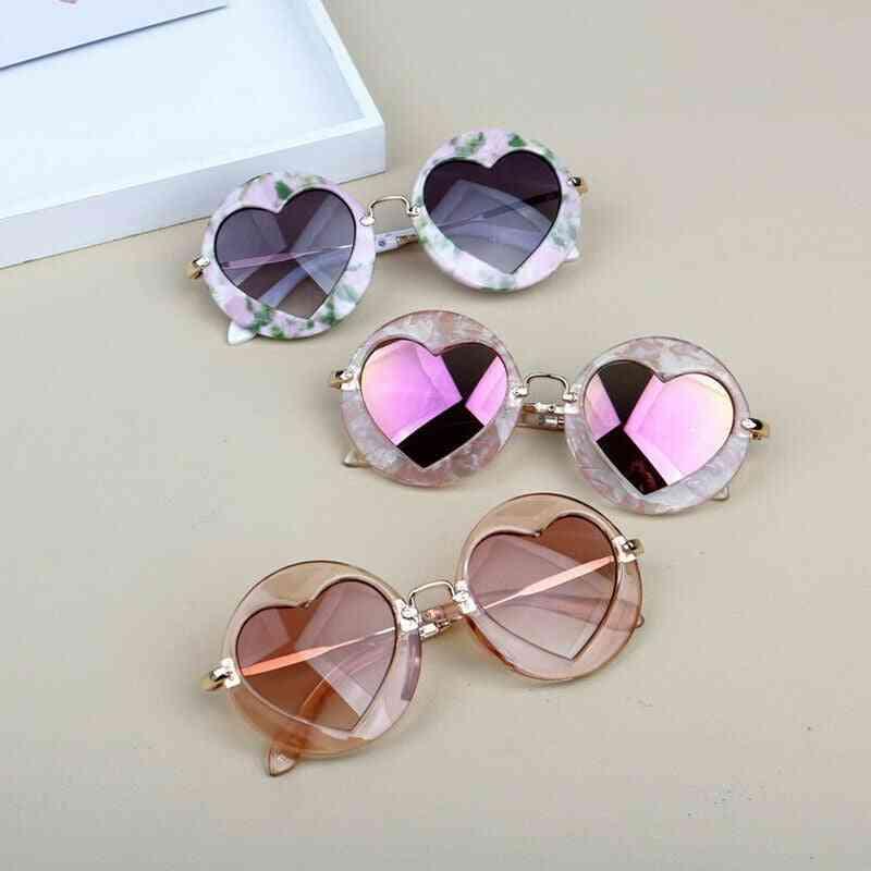 Kids  Retro Anti-round Sunglasses Frame