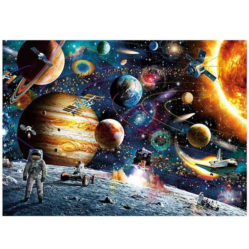 Jigsaw Puzzles Educational- Scenery Space Stars