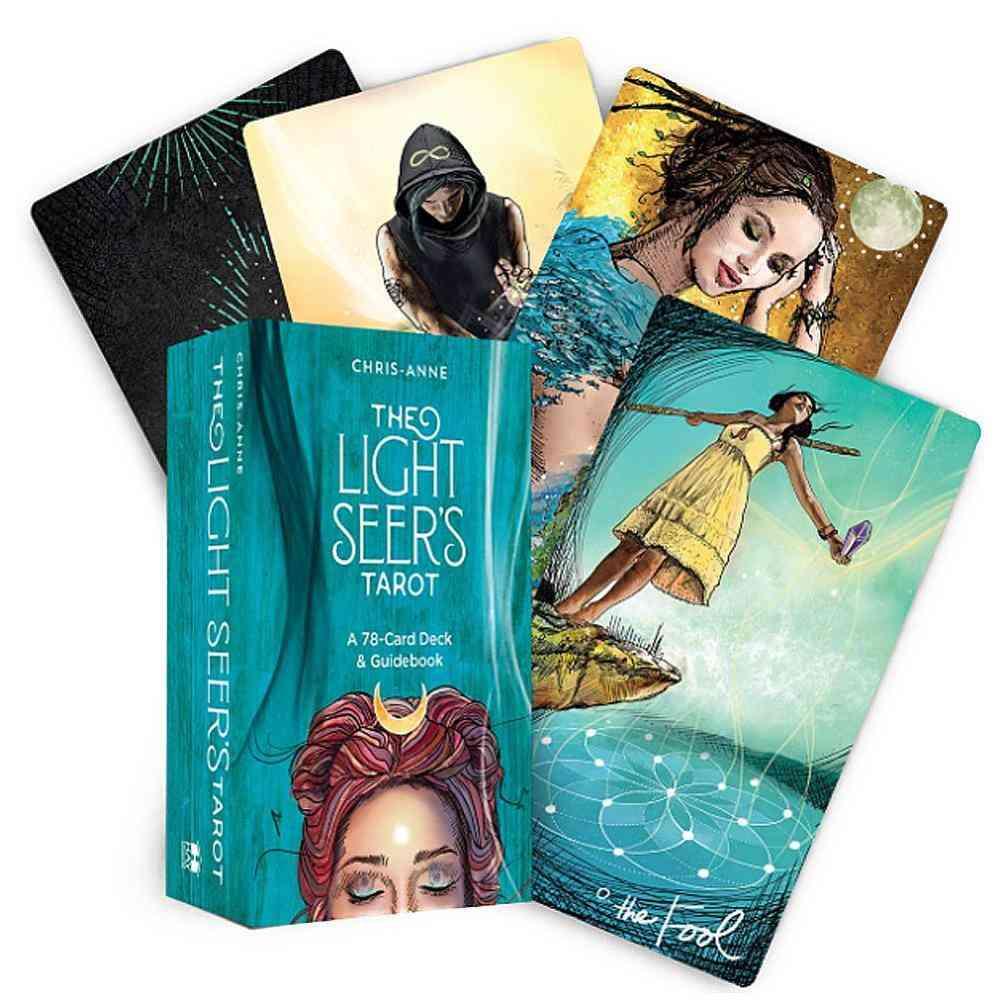 Light Seer's Tarot Card Games, English Edition Mysterious Tarot Board
