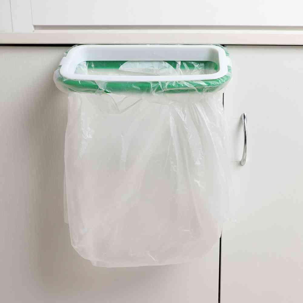 Cupboard Door Back Garbage Bag Holder