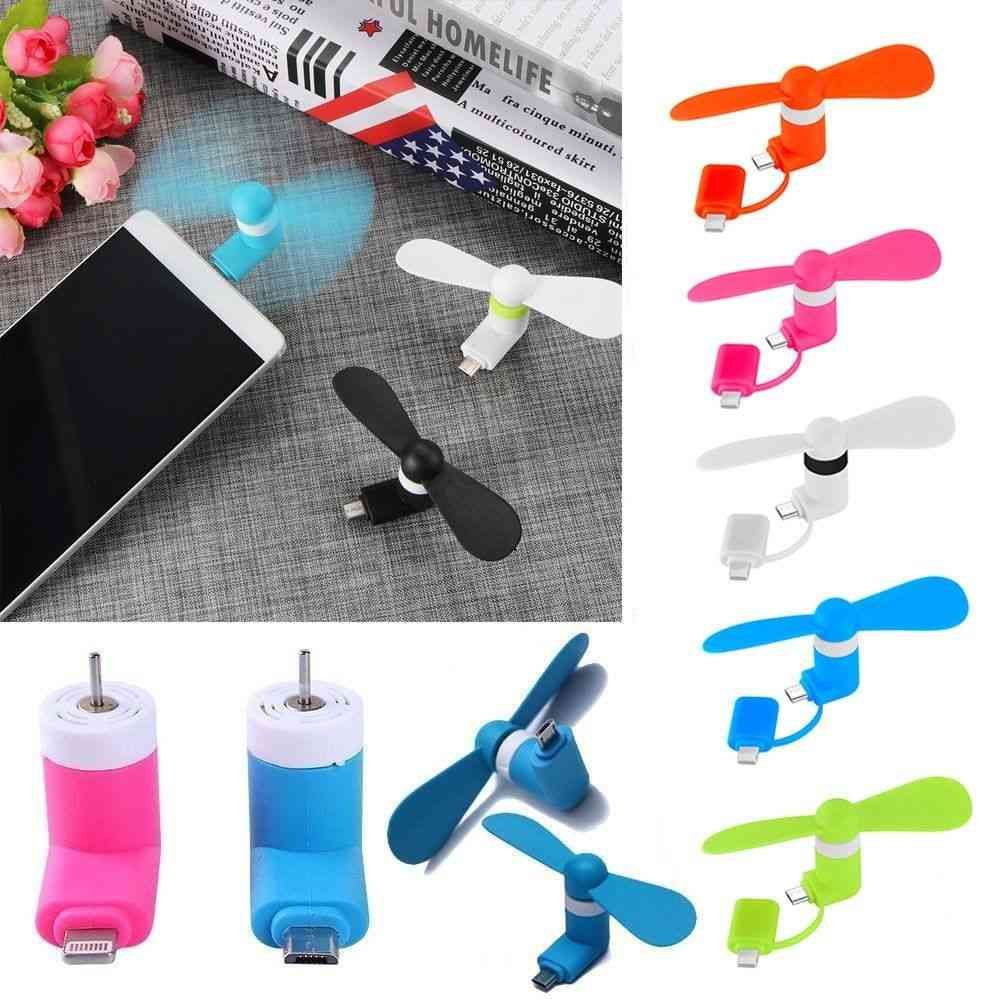 Usb Portable, Mini Electric Fan For Iphone/smartphones