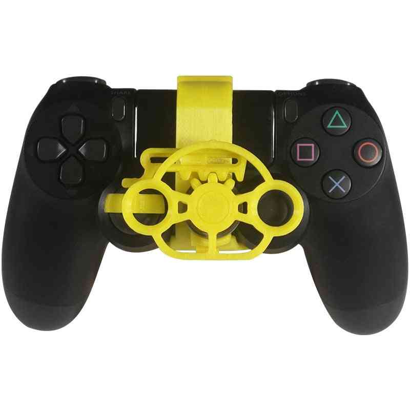 Mini Steering Wheel - Auxiliary Controller Joystick Racing Games