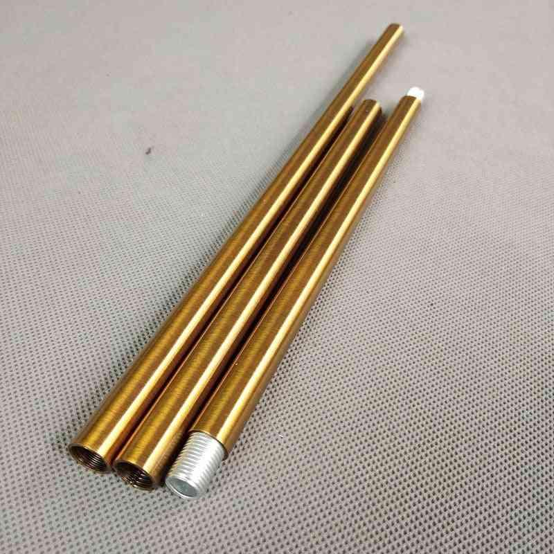 Thread  Antique Gold Metal Hollow Tube