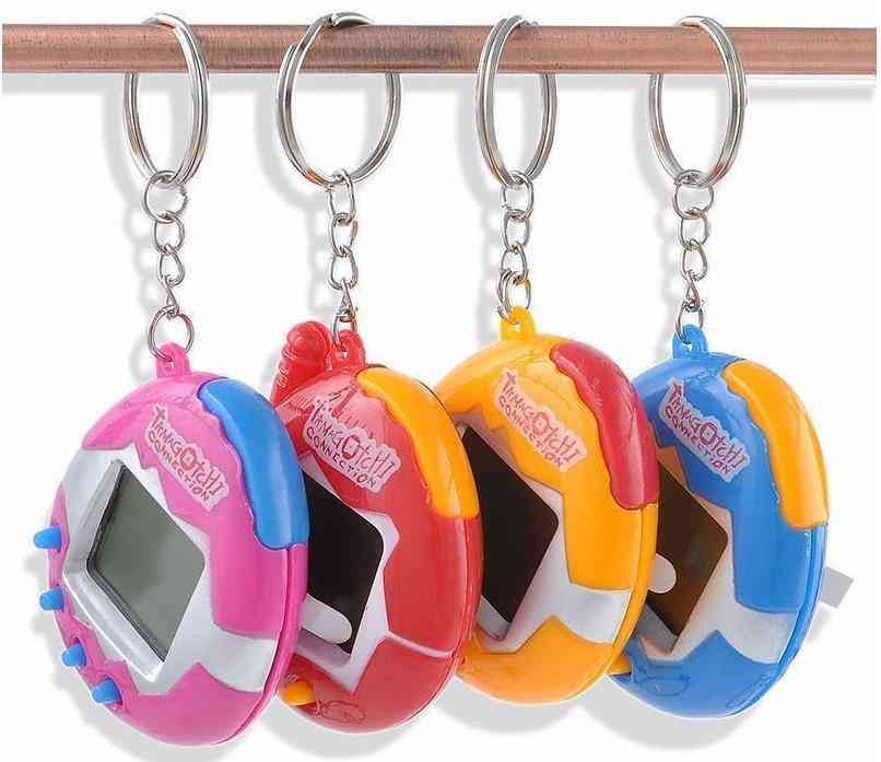 Electronic Pets Key Chain With 4 Different Styles