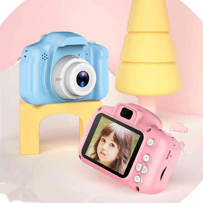 Digital Mini Camera For Kids - 2 Inch Hd Screen Chargeable Photography Props