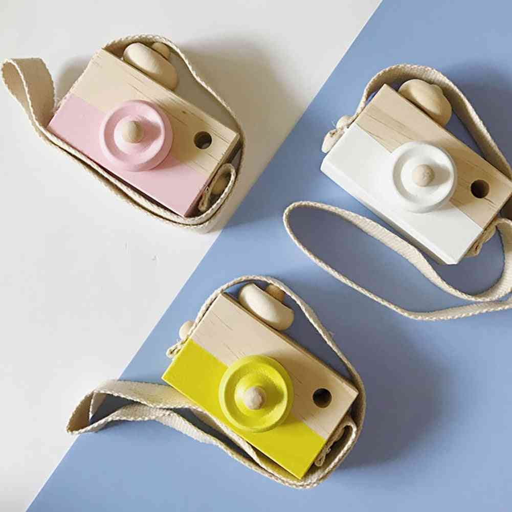 Nordic Wooden Camera Toy, Photography Prop