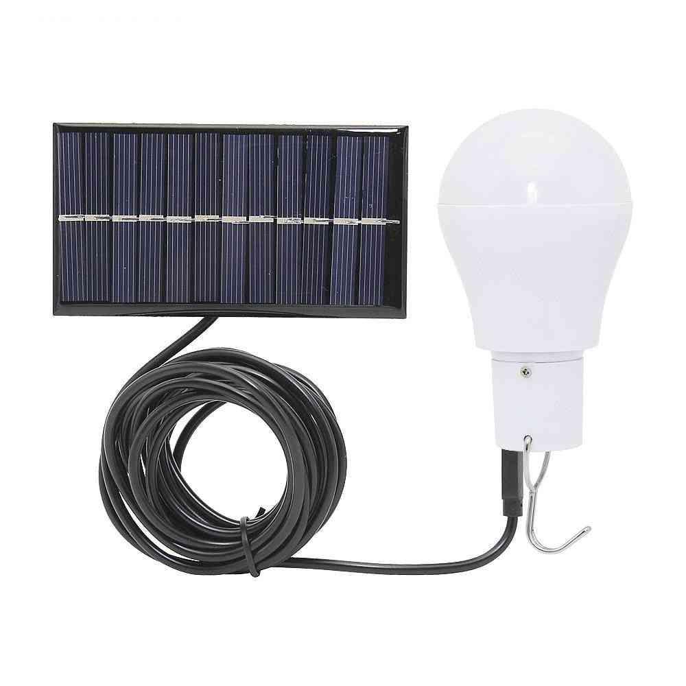 Portable Led Solar Bulb For Outdoor Garden/travel/camping