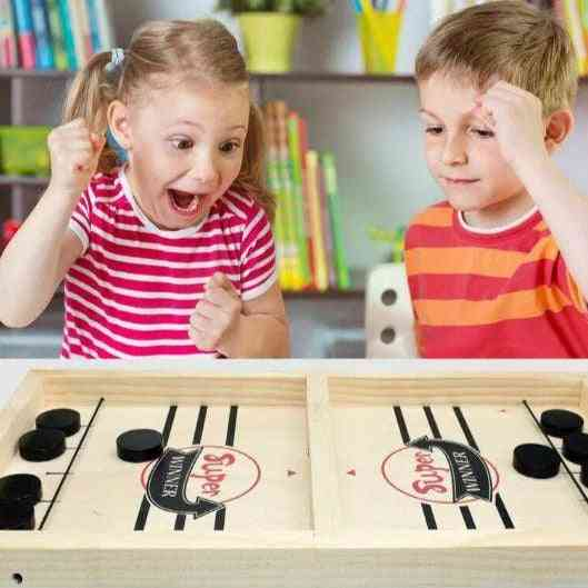 Fast Hockey Sling, Puck Fun Game For Family And Kids