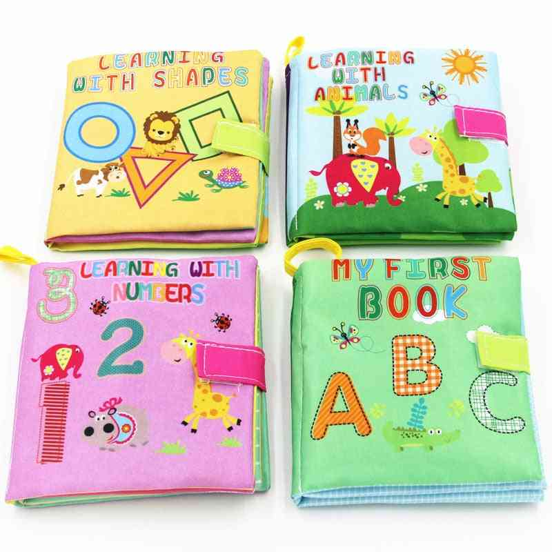Interactive Soft Cloth Books With Big Flaps