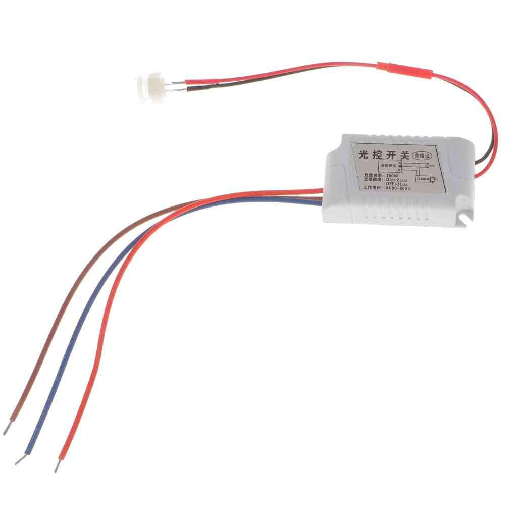 Waterproof Light Control Sensor Switch -automatic On/off