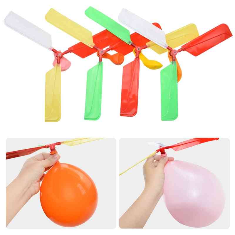 Funny Traditional Classic Sound Balloon Helicopter -s Play Flying