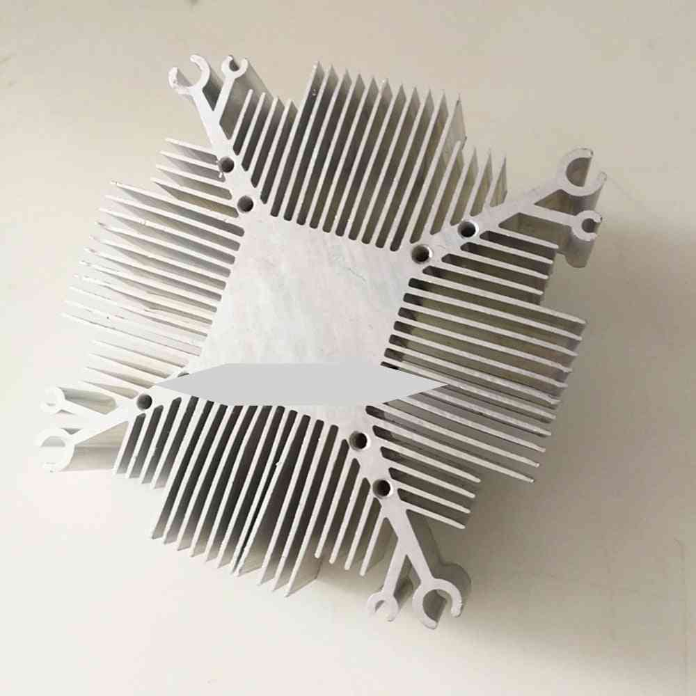 Aluminium Cob Led Heatsink - For Cooling Diy Grow Chip Light