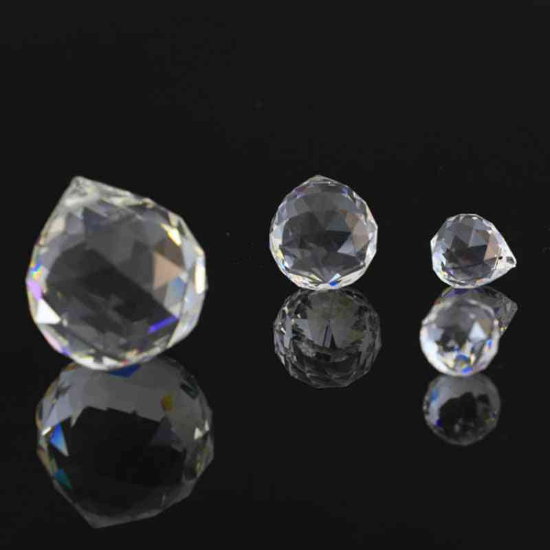1-2 Piece Clear Crystals Glass Ball