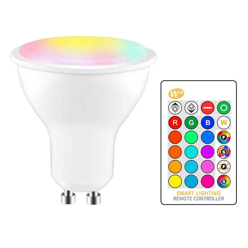 Led Infrared Remote Control Dimming Rgbw Lamp