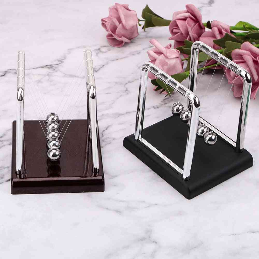 T/square Shape-pendulam Steel Ball With Base