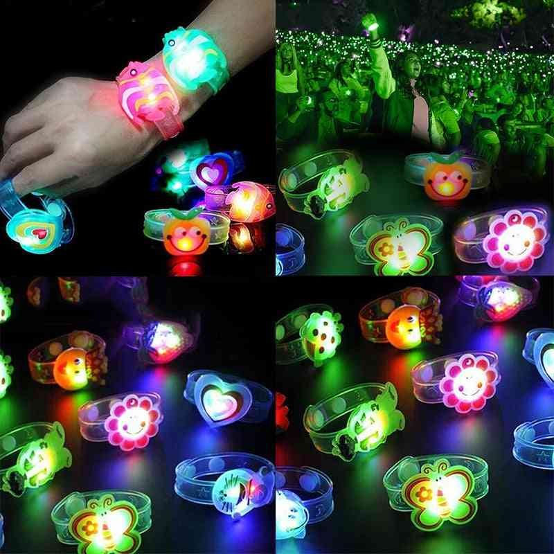 Luminous Watch Design Strap With Led Lights